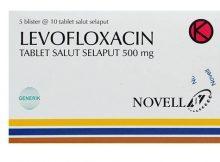 Thuốc Levofloxacine